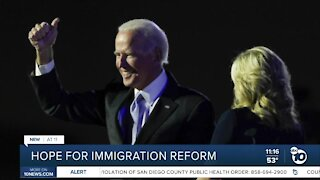 Immigration advocates hope for reform after Biden election