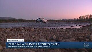 Arizona Governor Doug Ducey seeks US funding for bridge after kids die in creek