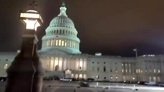 Military Orders Curfew in Washington DC - U.S. Capitol On Lockdown By Military