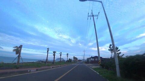 제주도 스쿠터 라이딩, Scooter riding in Jeju island, South Korea