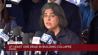 Officials give update on deadly Surfside condo collapse