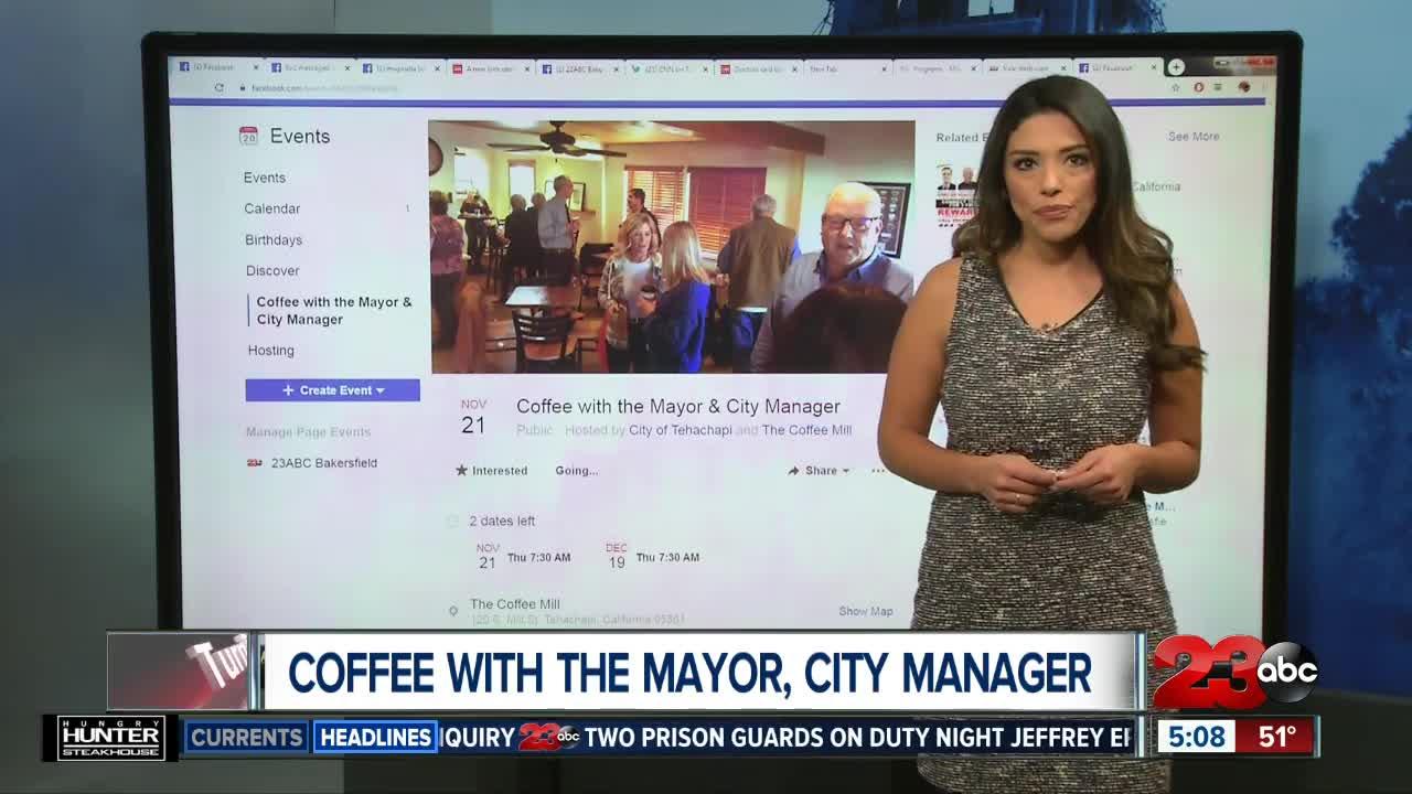Coffee with the Mayor of Tehachapi