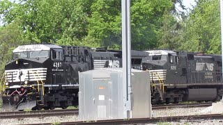 Norfolk Southern Manifest Mixed Freight Train