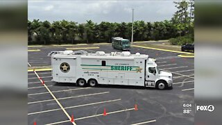 Lee County Sheriff's Office Bomb Squad training