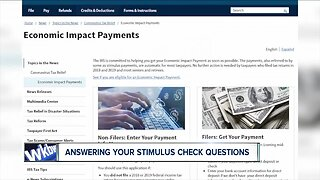 Answering your stimulus check questions