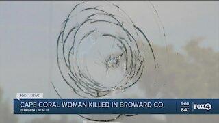 Cape Coral woman found dead in Broward County