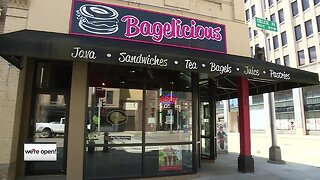 We're Open: Bagelicious