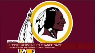 Washington Redskins change their name