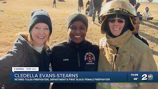 Meet the Tulsa Fire Department's first Black female firefighter