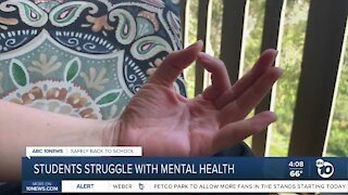 Mental health concerns rise as students go back to school