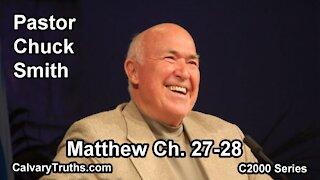 40 Matthew 27-28 - Pastor Chuck Smith - C2000 Series