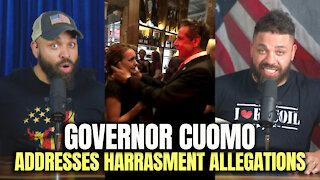 Governor Cuomo Addresses Harassment Allegations