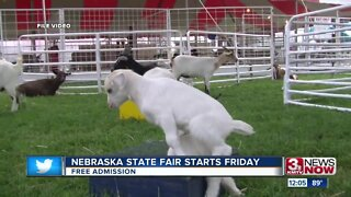 NE State Fair Starts Friday