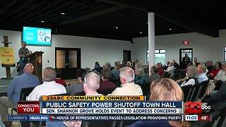 Public Safety Power Shutoff Town hall held in Tehachapi