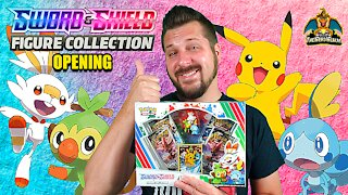 Sword & Shield Figure Collection | Pokemon Cards Opening