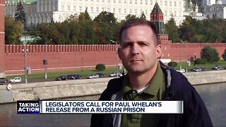 Michigan Congressional delegation calls on Russia to release Paul Whelan
