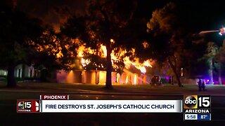 Church fire under investigation