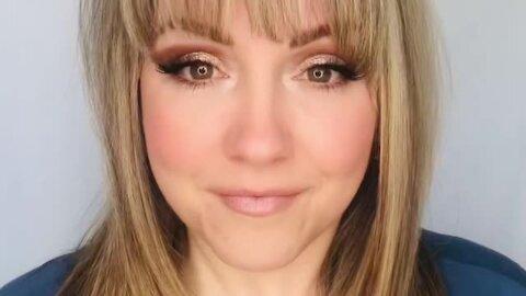 DIY easy glam makeup tutorial