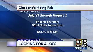 Companies hiring workers now in the Valley