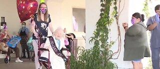 Vegas valley woman celebrates 100th birthday in style