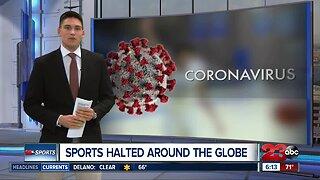 Coronavirus stops sports around the globe