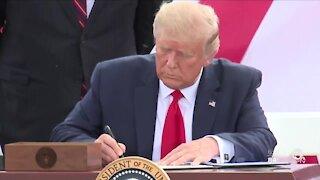 President Trump visits Jupiter