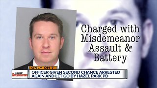 Metro Detroit officer previously charged with assault gets new OWI charge