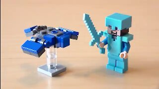 Lego Minecraft Phantom Tutorial