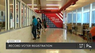 DECISION 2020: Record voter registration