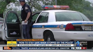 'Together We Will' hosts police stop safety discussion