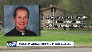 Active Buffalo Diocese priest accused of child sexual abuse