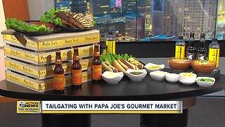 Tailgating With Papa Joe's Gourmet Market