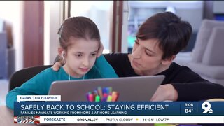 Parents: Follow these five tips for creating a successful at-home learning environment