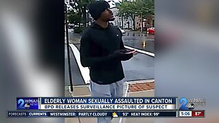 Elderly woman sexually assaulted in Canton