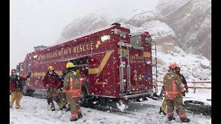 Hiker rescued during Las Vegas snowstorm