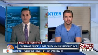 Derek Hough talks about his new project