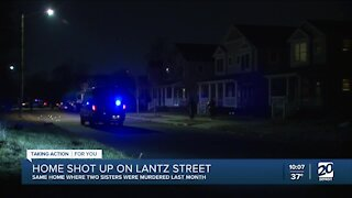 Shots fired into home on Detroit's west side