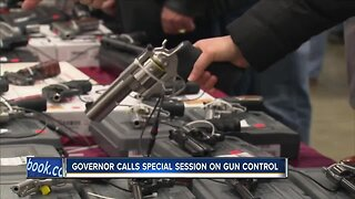Gov. Evers calls for a special session on gun control