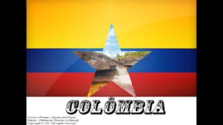 Bandeiras e fotos dos países do mundo: Colômbia [Frases e Poemas]