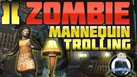 """BO2 - """"Zombies Mannequin Troll"""" MUST WATCH!! (Black Ops 2 Zombie Tranzit Mode)"""