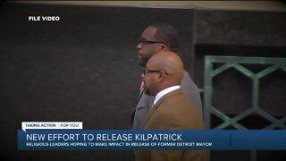 New effort underway to release former Detroit Mayor Kwame Kilpatrick