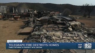 Couple loses everything in El Capitan from Telegraph Fire, 51 structures lost total