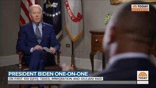 Biden Blames Trump For His Border Crisis