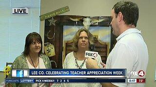 Lee County celebrating Teacher Appreciation Week - 8:30am live report