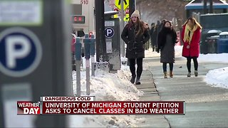 University of Michigan Ann Arbor campus cancels classes Wednesday, Thursday