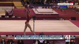 Local gymnast competes at world championships