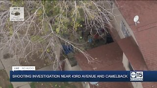 Shooting investigation near 43rd Ave and Camelback