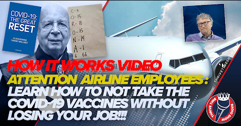 Want to How It Works | Join the Airline Injunction Action Against the COVID-19 Vaccine Mandate!!!
