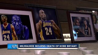 Milwaukee mourns the death of NBA legend Kobe Bryant