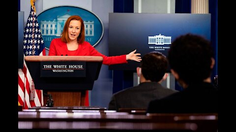 Psaki Dodges Questions on Harris